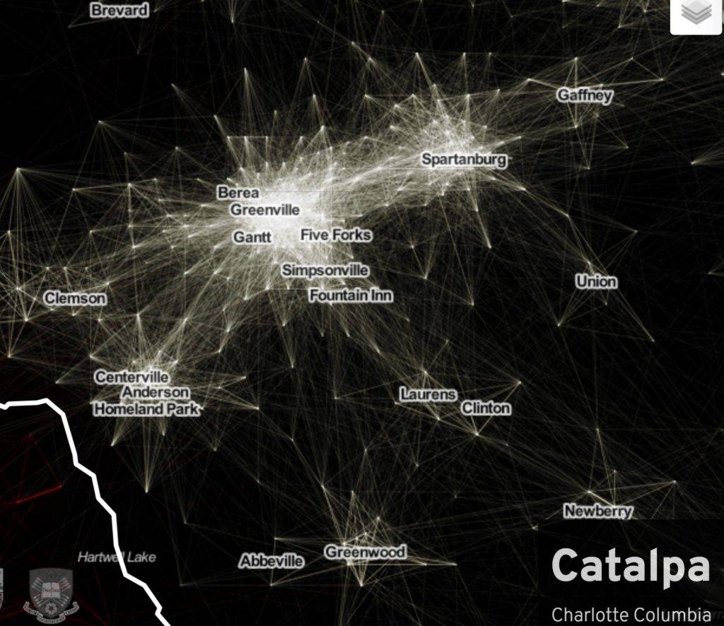 Better Get Used To It Were Catalpa GVLToday - Us megaregions map