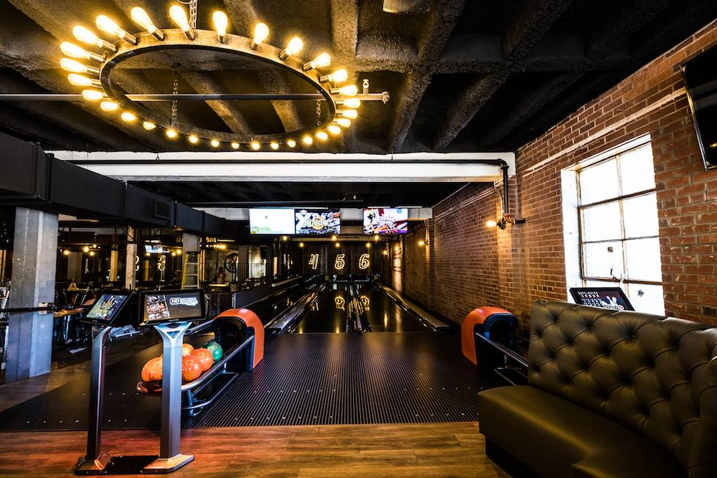 Greenville S Newest Boutique Bowling Alley Opens Its Lanes