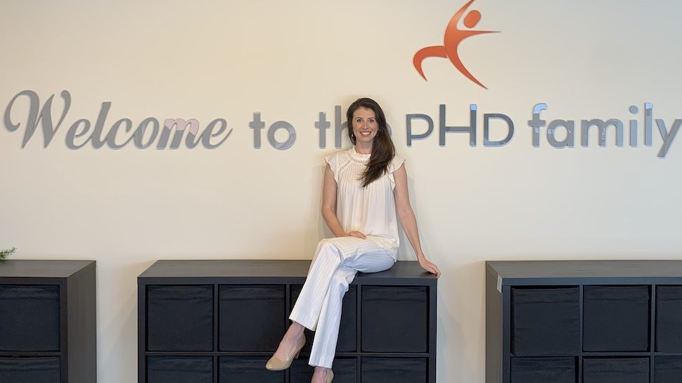 Dr. Ashley Lucas in a PHD Weight Loss Clinic office