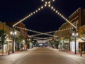 CenterG streetscape project in Greer Station | Photo by @greercpw