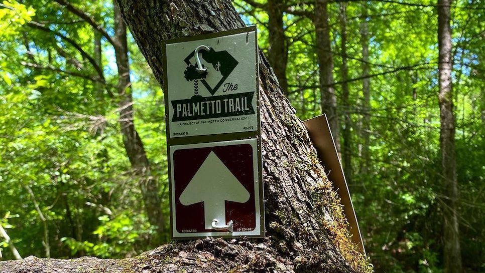 Marker on The Palmetto Trail | Image from @palmettotrail