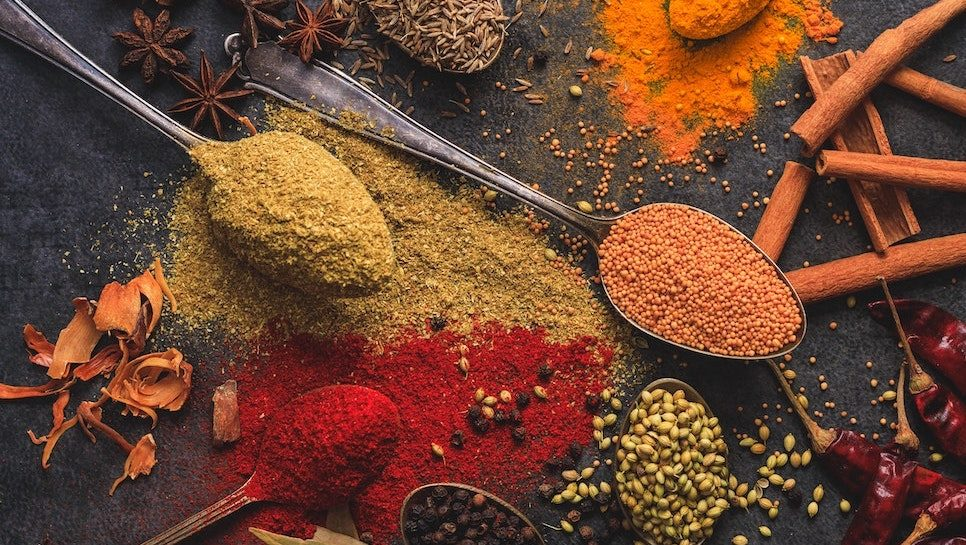 Spices | Photo by Shantanu Pal from Pexels