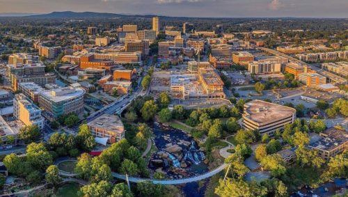 City of Greenville | Image from @vanzeppelinaerial