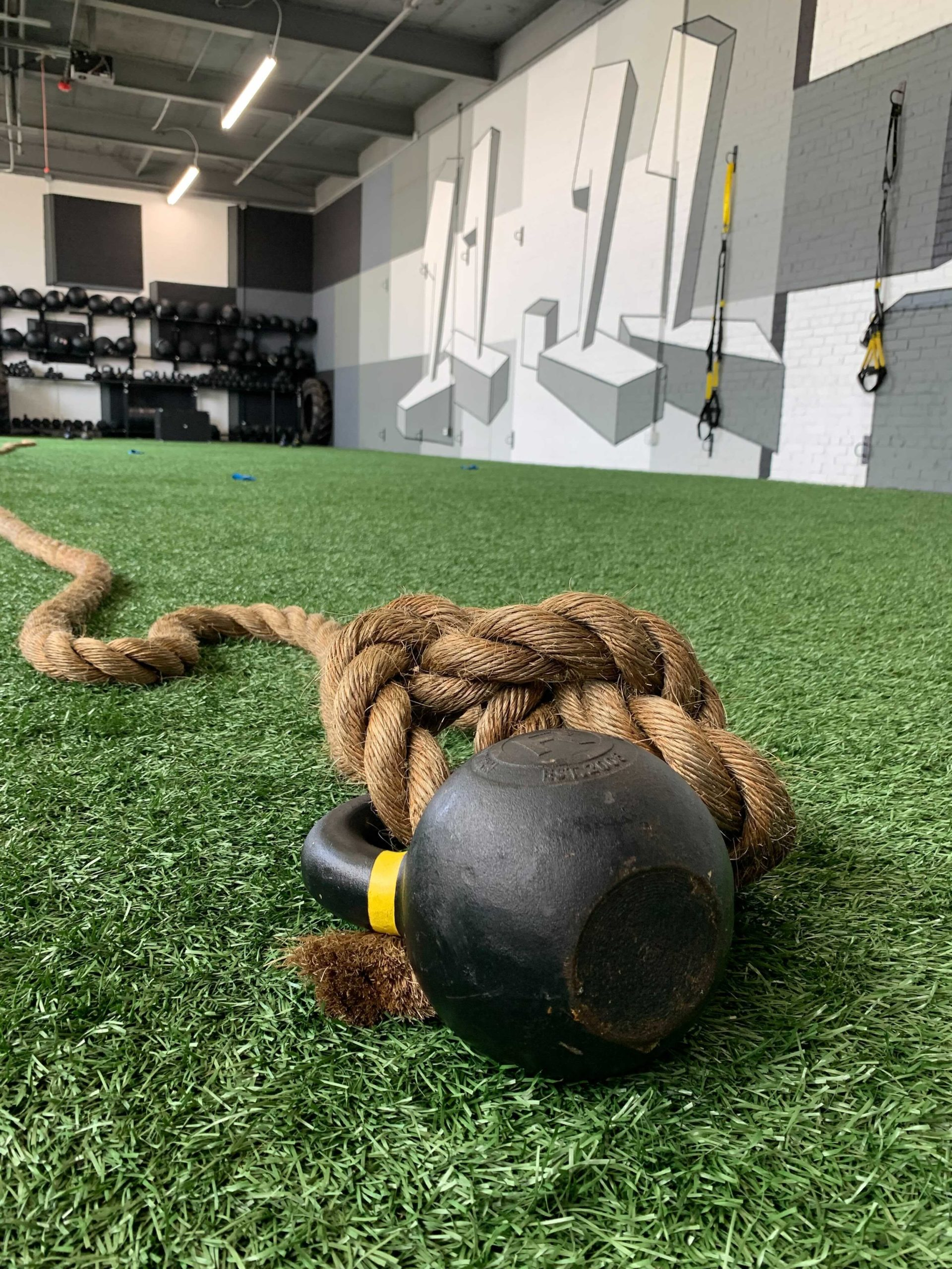 Rope pull exercise at 11.11 Training | Photo by the GVLtoday team