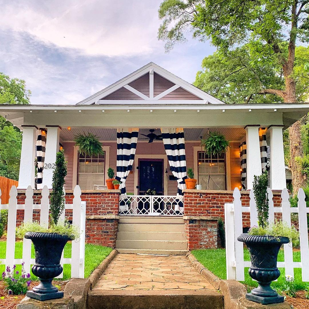 Home in the Heritage Historic District | Photo by @gvl_digs