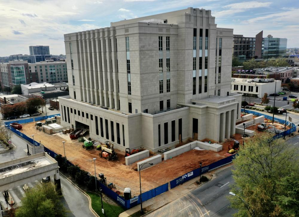 Federal Courthouse | Aerial photo by Jacob Sharp