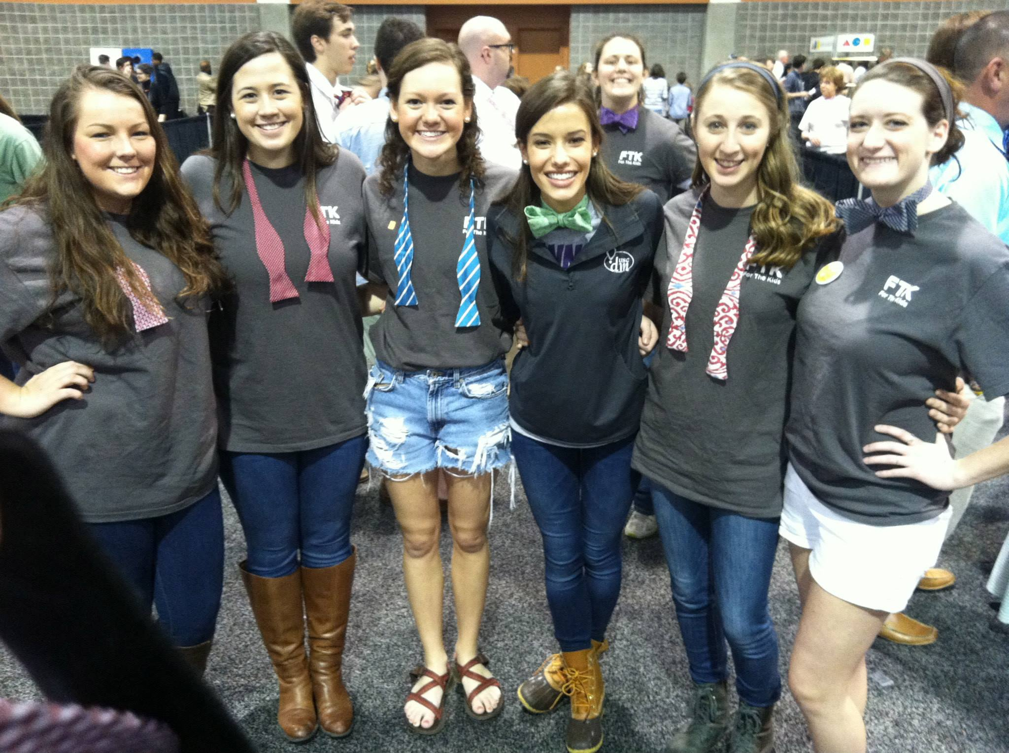 Editor Ana (third from right) setting a world record with UofSC Dance Marathon in 2014