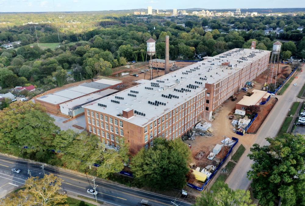 Woodside Mill | Aerial photo by Jacob Sharp