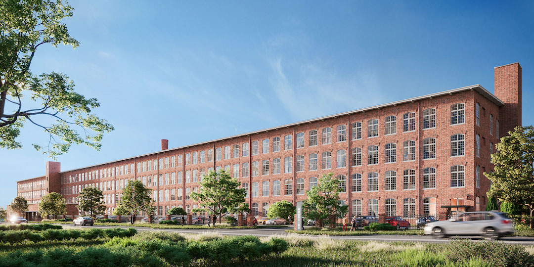 The Lofts at Woodside Mill, present-day | Photo provided