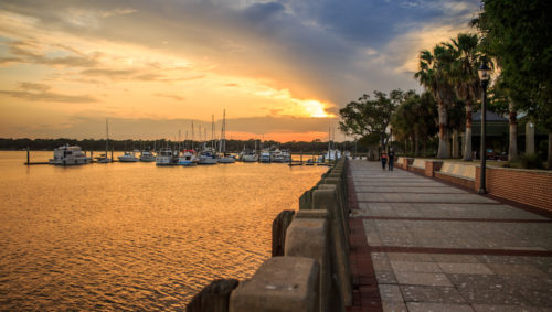 Views from the Henry C. Waterfront in Beaufort, SC | Photo by Shawn Hill Photography