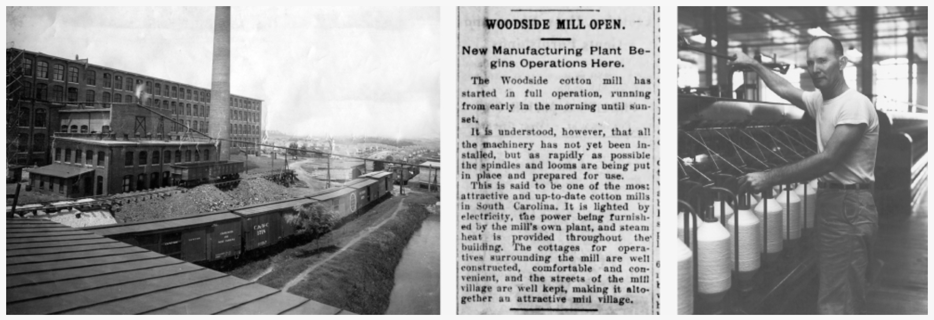 Woodside Mill and news coverage of the opening | Photo provided by The Lofts at Woodside Mill
