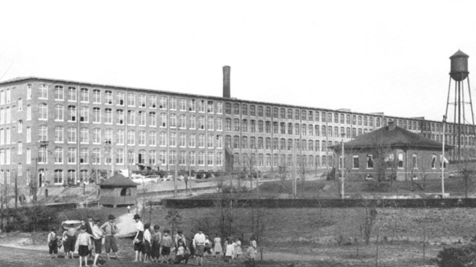 Woodside Mill, pictured here in 1913 | Photo provided by The Lofts at Woodside Mill
