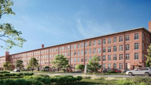 The Lofts at Woodside Mill is newly renovated to embrace its historic roots, The Woodside Cotton Mill   Photo provided