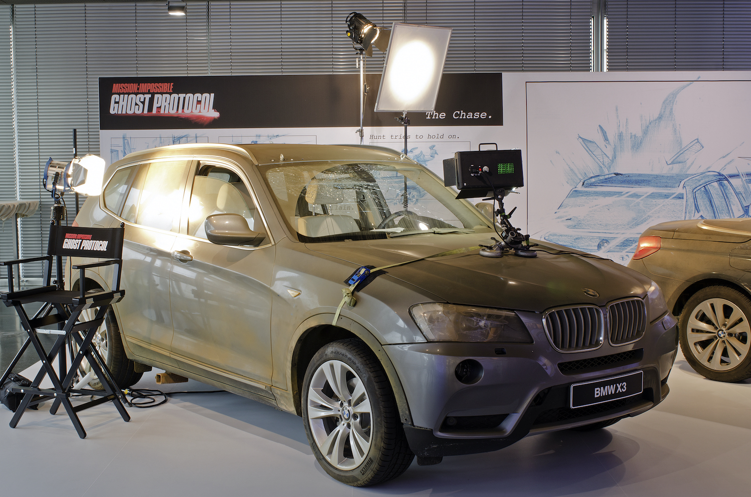 """The BMW X3 used in """"Mission:Impossible — Ghost Protocol""""   Photo provided by BMW"""